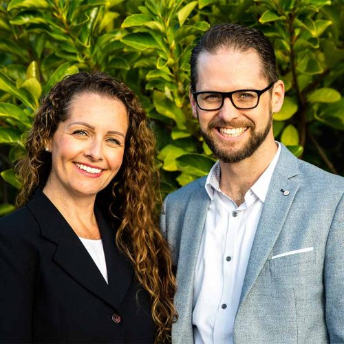 Michelle Bell and Jon Longden profile image
