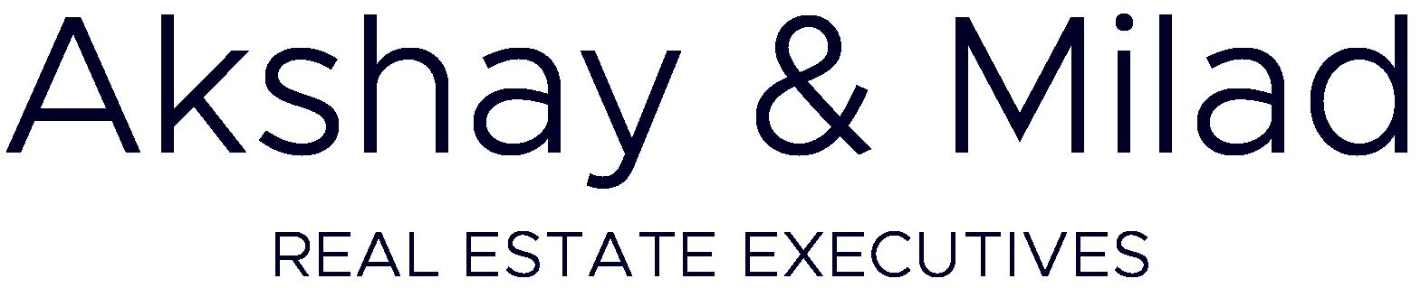 Akshay & Milad Real Estate Executives